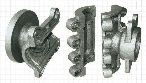 Ductile iron pieces using national standard iron